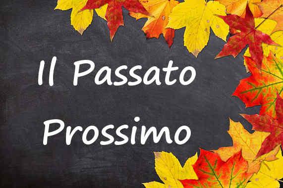 Learn the Italian past tense passato prossimo